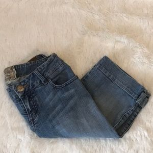 ⭐️3 for $20 Euc American Rag crop jeans size 5 ✔️